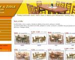 Janíček - stoly a židle