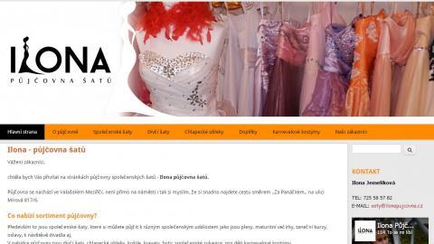 Ilona - půjčovna šatů