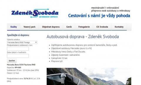 Autobusová doprava - Zdeněk Svoboda